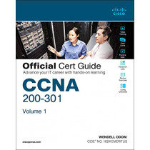 CCNA 200-301 Official Cert Guide, Volume 1/e by Wendell Odom, 9780135792735