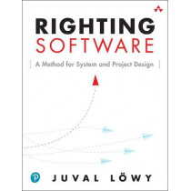 Righting Software by Juval Lowy, 9780136524038
