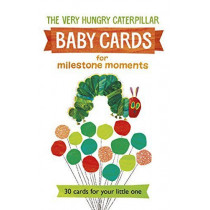 Very Hungry Caterpillar Baby Cards for Milestone Moments by Eric Carle, 9780141368818