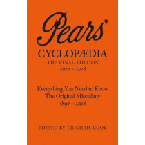 Pears' Cyclopaedia 2017-2018 by Chris Cook, 9780141985541
