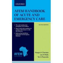 AfEM Handbook of Acute and Emergency Care (Medical) 2e by Lee Wallis, 9780190722821