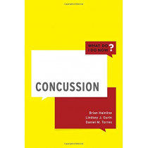 Concussion by Brian Hainline, 9780190937447