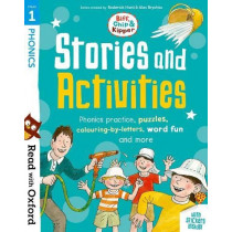 Read with Oxford: Stage 1: Biff, Chip and Kipper: Stories and Activities: Phonics practice, puzzles, colouring-by-letters, word fun and more by Roderick Hunt, 9780192764584