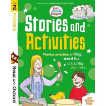 Read with Oxford: Stage 2: Biff, Chip and Kipper: Stories and Activities: Phonics practice, writing, word fun, colouring and more by Roderick Hunt, 9780192764645