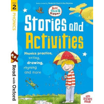 Read with Oxford: Stage 2: Biff, Chip and Kipper: Stories and Activities: Phonics practice, writing, drawing, rhyming and more by Roderick Hunt, 9780192764676