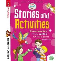 Read with Oxford: Stage 3: Biff, Chip and Kipper: Stories and Activities: Phonics practice, writing, spelling, fun word games and more by Roderick Hunt, 9780192764706