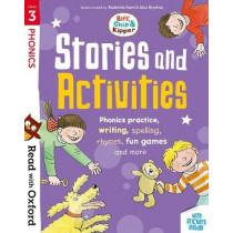 Read with Oxford: Stage 3: Biff, Chip and Kipper: Stories and Activities: Phonic practice, writing, spelling, rhymes, fun games and more by Roderick Hunt, 9780192764737