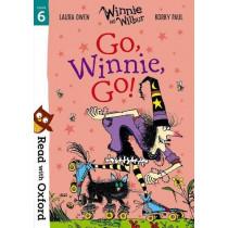 Read with Oxford: Stage 6: Winnie and Wilbur: Go, Winnie, Go! by Laura Owen, 9780192765253