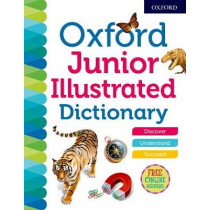 Oxford Junior Illustrated Dictionary by Oxford Dictionaries, 9780192767226