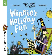 Read with Oxford: Stage 4: Winnie and Wilbur: Winnie's Holiday Fun by Korky Paul, 9780192773722