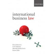 International Business Law: International Business Law by Bryan Mercurio, 9780195560176