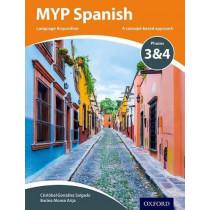 MYP Spanish Language Acquisition Phases 3 & 4, 9780198395997