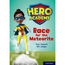 Hero Academy: Oxford Level 12, Lime+ Book Band: Race for the Meteorite by Paul Stewart, 9780198416784