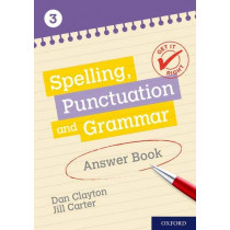 Get It Right: KS3; 11-14: Spelling, Punctuation and Grammar Answer Book 3 by Frank Danes, 9780198421580