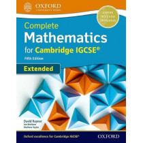 Complete Mathematics for Cambridge IGCSE (R) Student Book (Extended) by David Rayner, 9780198425076