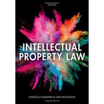 Intellectual Property Law by Stavroula Karapapa, 9780198747697