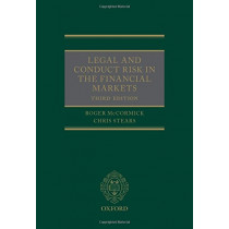 Legal and Conduct Risk in the Financial Markets by Roger McCormick, 9780198749271