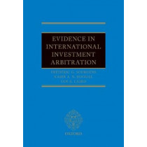 Evidence in International Investment Arbitration by Frederic G. Sourgens, 9780198753506