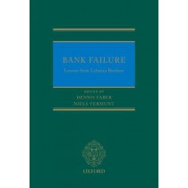 Bank Failure: Lessons from Lehman Brothers by Dennis Faber, 9780198755371
