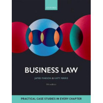 Business Law by James Marson, 9780198766285