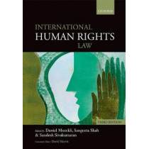 International Human Rights Law by Daniel Moeckli, 9780198767237