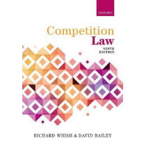 Competition Law by Richard Whish, 9780198779063