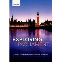 Exploring Parliament by Cristina Leston-Bandeira, 9780198788430