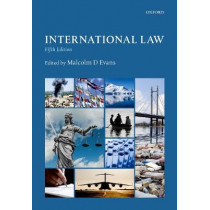 International Law by Malcolm Evans, 9780198791836