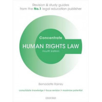 Human Rights Law Concentrate: Law Revision and Study Guide by Bernadette Rainey, 9780198794172