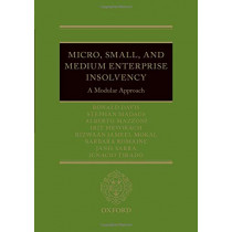Micro, Small, and Medium Enterprise Insolvency: A Modular Approach by Riz Mokal, 9780198799931