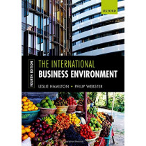 The International Business Environment by Leslie Hamilton, 9780198804291