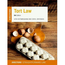 Tort Law Directions by Vera Bermingham, 9780198805359