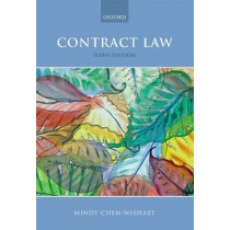 Contract Law by Mindy Chen-Wishart, 9780198806356