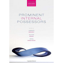 Prominent Internal Possessors by Andras Barany, 9780198812142