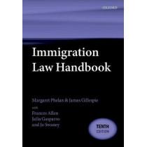 Immigration Law Handbook by Margaret Phelan, 9780198815402