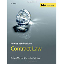 Poole's Textbook on Contract Law by Robert Merkin QC, 9780198816980