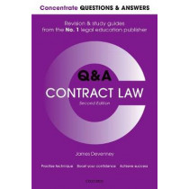Concentrate Questions and Answers Contract Law: Law Q&A Revision and Study Guide by James Devenney, 9780198817673