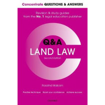 Concentrate Questions and Answers Land Law: Law Q&A Revision and Study Guide by Rosalind Malcolm, 9780198817871