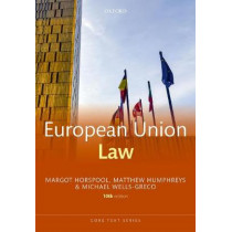 European Union Law by Margot Horspool, 9780198818854