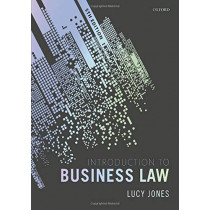 Introduction to Business Law by Lucy Jones, 9780198824886