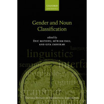 Gender and Noun Classification by Eric Mathieu, 9780198828112