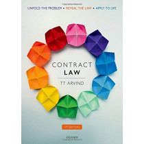 Contract Law by TT Arvind, 9780198829263