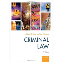 Criminal Law by Michael Allen, 9780198831938