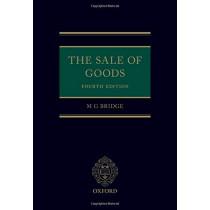 The Sale of Goods by M G Bridge, 9780198832720