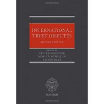 International Trust Disputes by Steven Kempster, 9780198832737