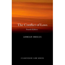 The Conflict of Laws by Adrian Briggs, 9780198838500