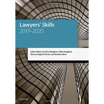 Lawyers' Skills by Julian Webb, 9780198838647