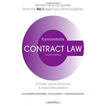 Contract Law Concentrate: Law Revision and Study Guide by Jill Poole, 9780198840442