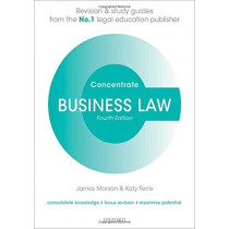 Business Law Concentrate: Law Revision and Study Guide by James Marson, 9780198840602
