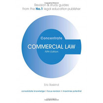 Commercial Law Concentrate: Law Revision and Study Guide by Eric Baskind, 9780198840619
